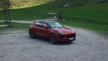 The new Porsche Macan S Design Preview