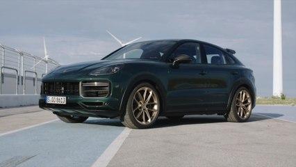 Porsche Cayenne Turbo GT Design Preview in Green Metallic