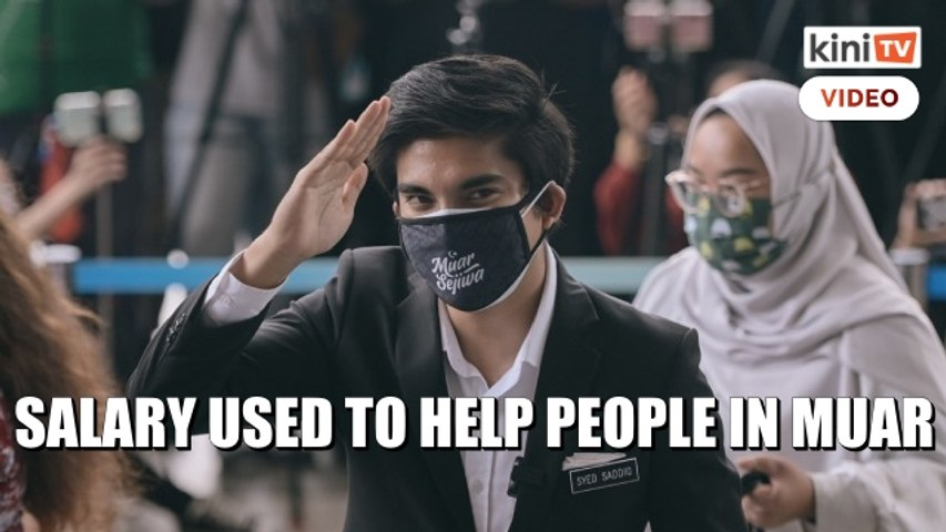 'I'm not from a privileged family' - Syed Saddiq launches fundraiser