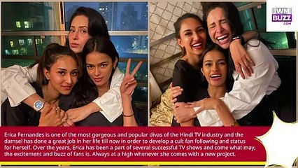 Kuch Rang Pyaar Ke Aise Bhi actress Erica Fernandes parties all night with her girl gang