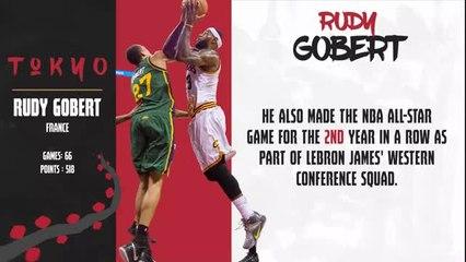 Stars of Tokyo 2020 - Rudy Gobert