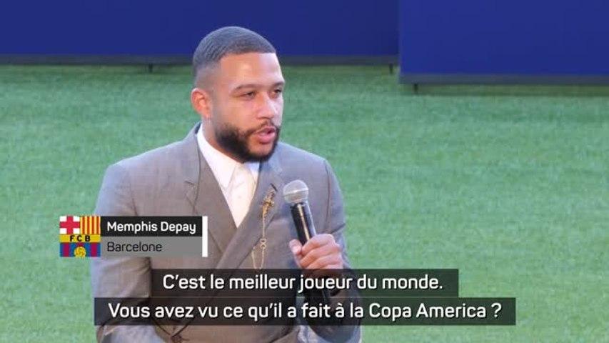 Depay - 'Messi est le meilleur joueur du monde'