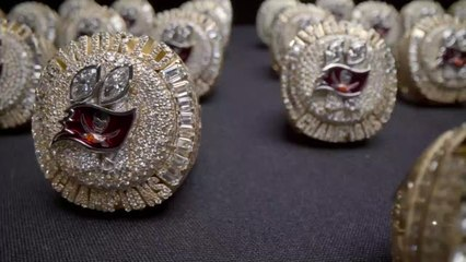 Tampa Bay Buccaneers receive 'most incredible Super Bowl rings ever made'