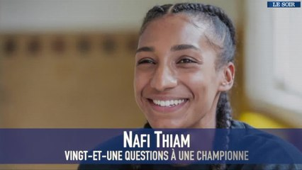 Nafissatou Thiam, vingt-et-une questions à une championne : le teasing
