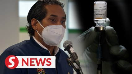 Sinovac is not being pulled out of national immunisation programme, says Khairy