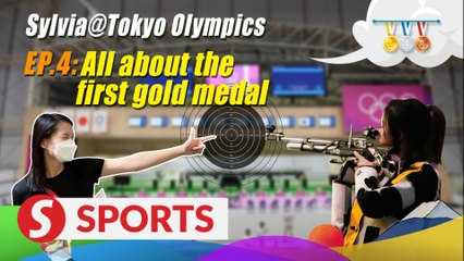 Sylvia@Tokyo Olympics Vlog: All about the first gold medal