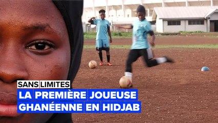 Sans limites : elle joue au football avec un hidjab