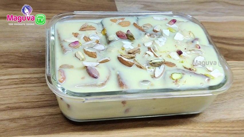 Bread Pudding Recipe with Custard   Eggless Custard Bread pudding Recipe in Telugu   How to Make Custard Bread pudding at home easily?  Quick Custard Bread pudding Recipe in Telugu   Maguva TV