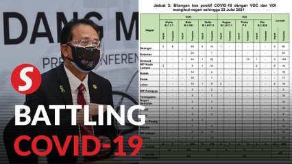Covid-19: 119 new cases involving variants of concern identified, says Health DG