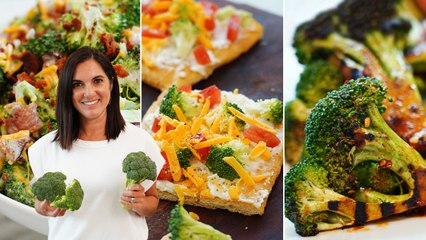 5 Broccoli Recipes That AREN'T Boring    Broccoli Casserole, Roasted, Grilled, Salad, & more!
