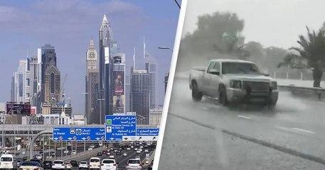 Dubaï fait tomber de la fausse pluie pour combattre la chaleur