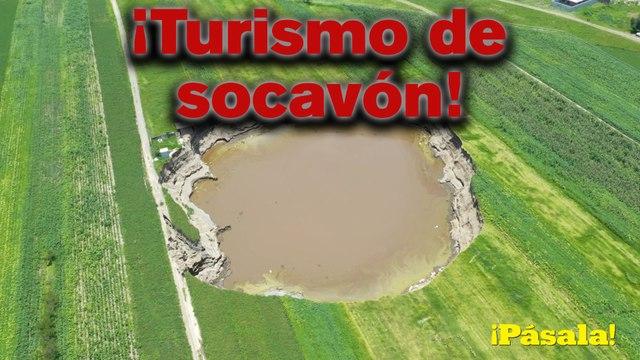 ¡Turismo de socavón!