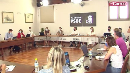 Juan Espadas asume la secretaría general del PSOE-A