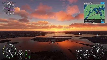 Flight Simulator - Gameplay New York - Xbox Series X