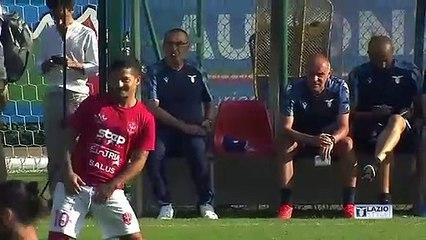 Lazio-Triestina, il gol di Luis Alberto