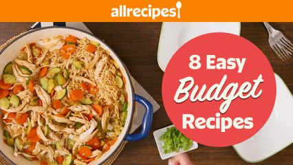 8 Delicious Budget-Friendly Recipes You'll Want Over and Over Again   Ramen, Chicken, Chili, & more!