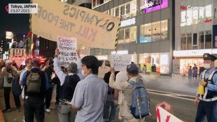 """Olympia tötet die Armen"": Protest in Tokio"
