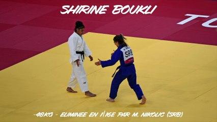 Jeux olympiques Tokyo 2021 – Shirine Boukli : « Ça va forcément me servir »