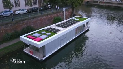 Découvrez ce concept de maison flottante