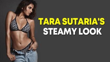 Tara Sutaria flaunts toned body in bikini
