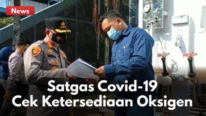 SATGAS COVID-19 CEK KETERSEDIAAN OKSIGEN DAN TEMPAT TIDUR DI RS EKA HOSPITAL