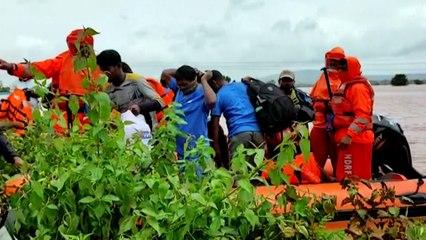 Maharashtra: Regenmassen lösen tödliche Erdrutsche aus