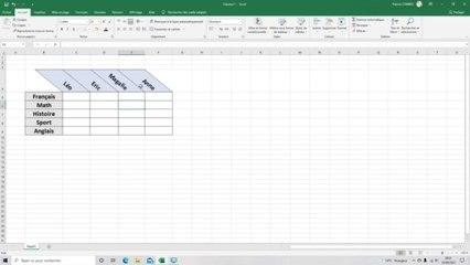 Tuto Excel 2019 - Orientation du texte