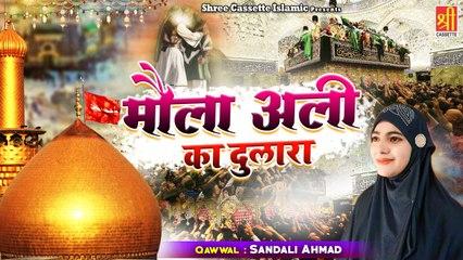 मौला अली का दुलारा   Moula Ali Ka Dulara   Superhit Qawwali 2021   Sandali Ahmad   Moula Ali Qawwali