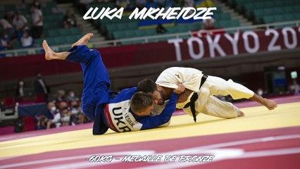 Jeux olympiques Tokyo 2021 - Luka Mkheidze : « Elle m'impressionne cette médaille »