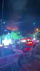 VÍDEO: Durante briga com namorada, homem toca fogo na casa dos pais, no Centro de Cajazeiras