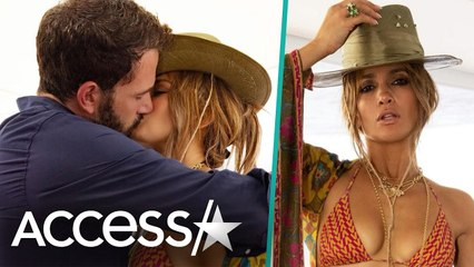 Jennifer Lopez & Ben Affleck Kiss In Steamy Birthday Photo