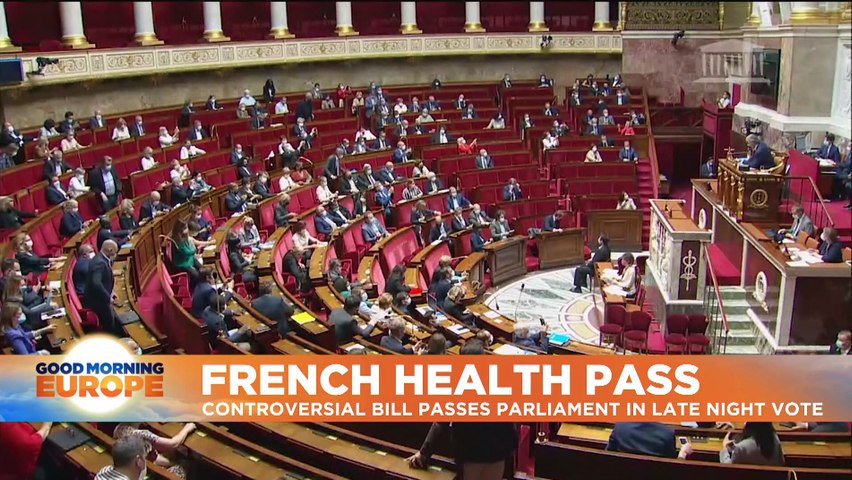 Tens of thousands protest against health pass in France
