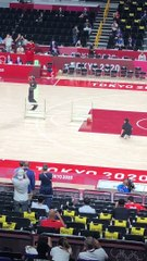 Un robot basketteur crée la sensation aux Jeux olympiques
