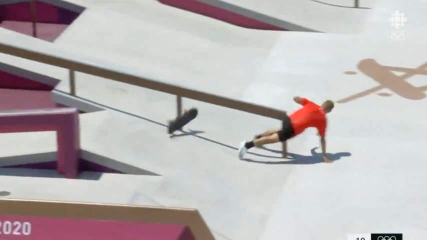 The First Ever Olympic Skateboarding Event Got Off To A Very Painful Start (VIDEO)