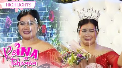 Claris Valladores as ReiNanay Of The Day | It's Showtime Reina Ng Tahanan