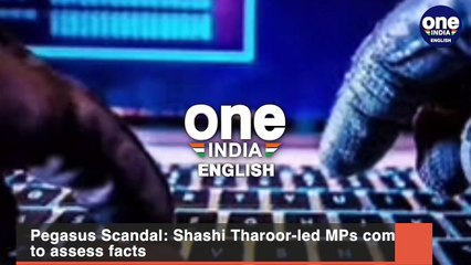 Pegasus Scandal- Shashi Tharoor-led MPs committee to assess facts