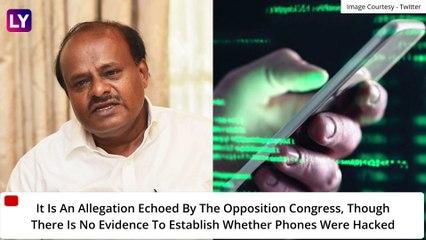 Pegasus Spyware Scandal- Congress Govt In Karnataka Allegedly Toppled; France's Macron Also Targeted