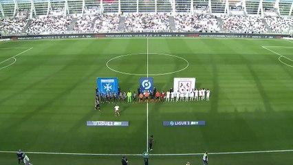 Résumé J1: Amiens SC - AJ Auxerre (1-2)