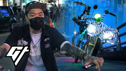 Hong Kong's hidden lowrider bike clan take to the streets