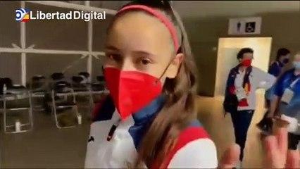 """El emotivo saludo de Adriana Cerezo tras su plata en Taekwondo: """"Lo siento muchísimo. Gracias a todos"""""""