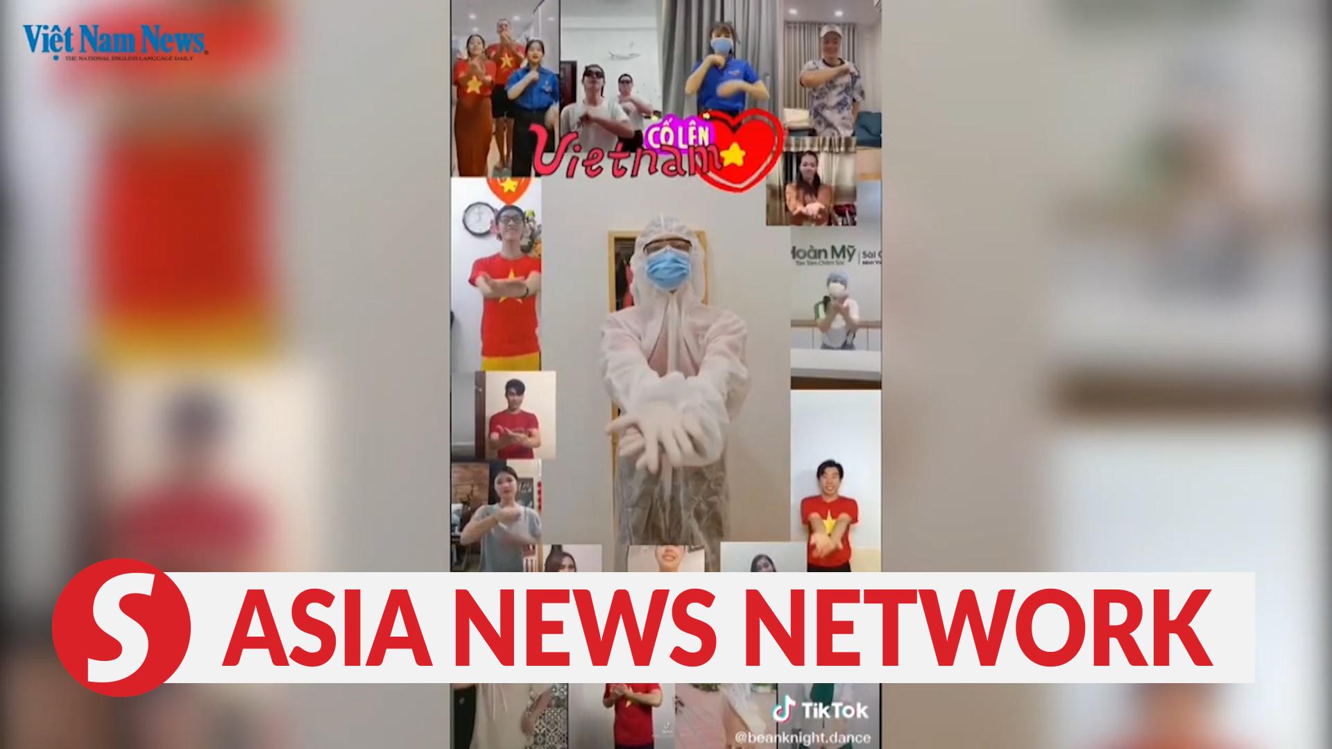 Vietnam News | Vietnamese TikTok users dance to fight Covid-19