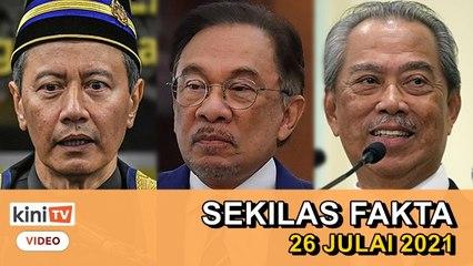 Speaker hilang sabar, Batal ordinan macam pasar malam!, Mana perdana menteri? - SEKILAS FAKTA