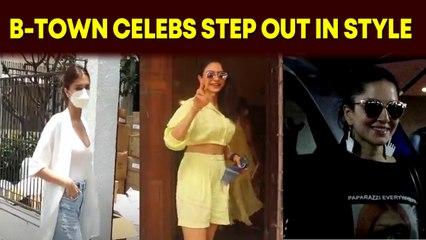 Tara Sutaria, Rakul Preet Singh, Sunny Leone step out in style