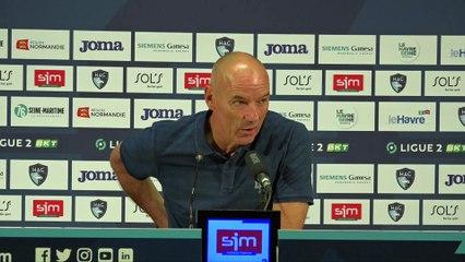 Après HAC - Guingamp (0-0), réactions de Paul Le Guen