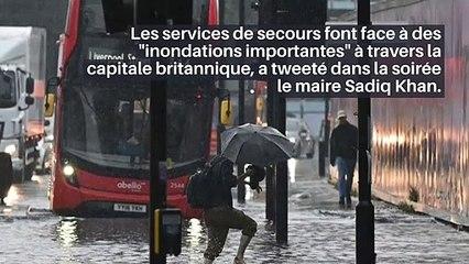 Découvrez les images impressionnantes des rues de Londres complètement inondées à cause des pluies torrentielles orageuses _IN
