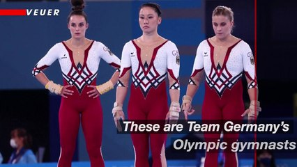 German Olympic Gymnasts Choose Full-Body Suits Over More Revealing Leotards