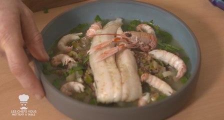 Les chefs vous mettent à table (épisode 6) : Quel poisson avec le cholestérol ?