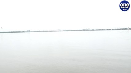 Usman Sagar and Hussain Sagar reservoirs were completely flooded due to the recent heavy rains