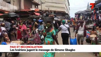 Paix et réconciliation : les Ivoiriens jugent le message de Simone Gbagbo