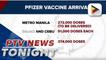 Latest batch of Pfizer vaccines arrive in Cebu, Manila